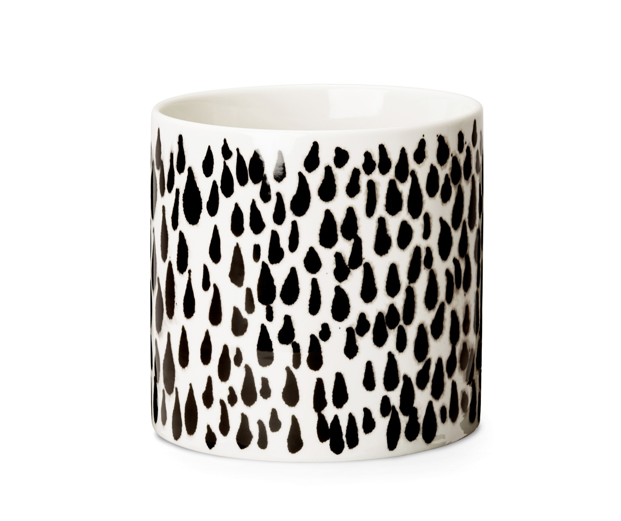 Design House Stockholm Deco Vase with Rain Pattern (Priced Each, Sold in Sets of 2)
