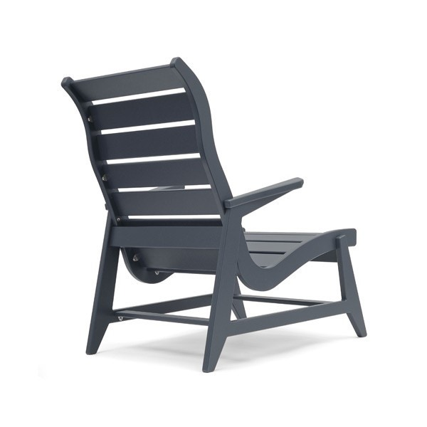 Loll Ralph Rapson High Back Lounge Outdoor Chair