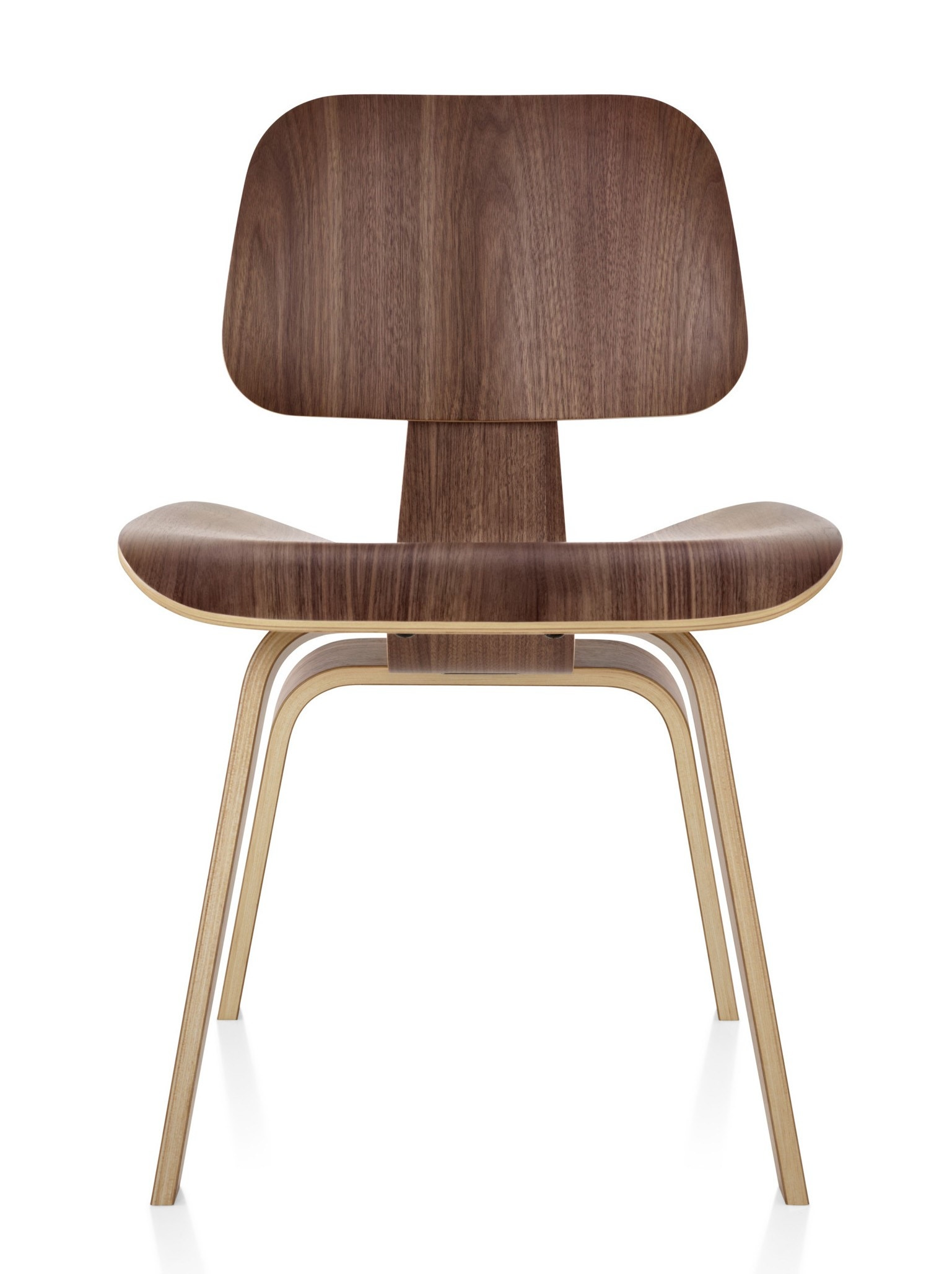 herman miller wood chair. herman miller eames® molded plywood dining chair - wood legs gr shop canada e