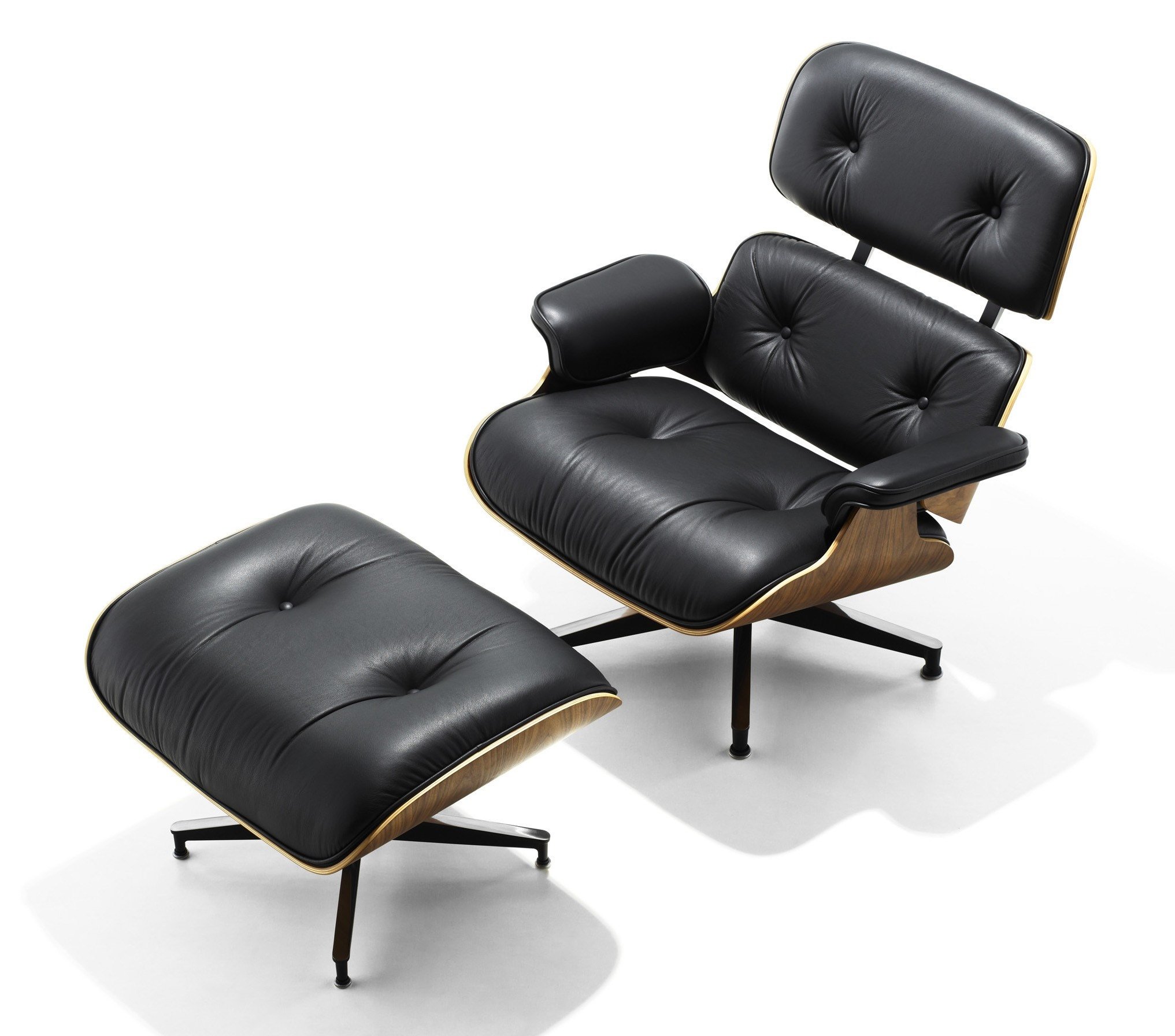 Prime Herman Miller Eames Lounge Chair And Ottoman Theyellowbook Wood Chair Design Ideas Theyellowbookinfo