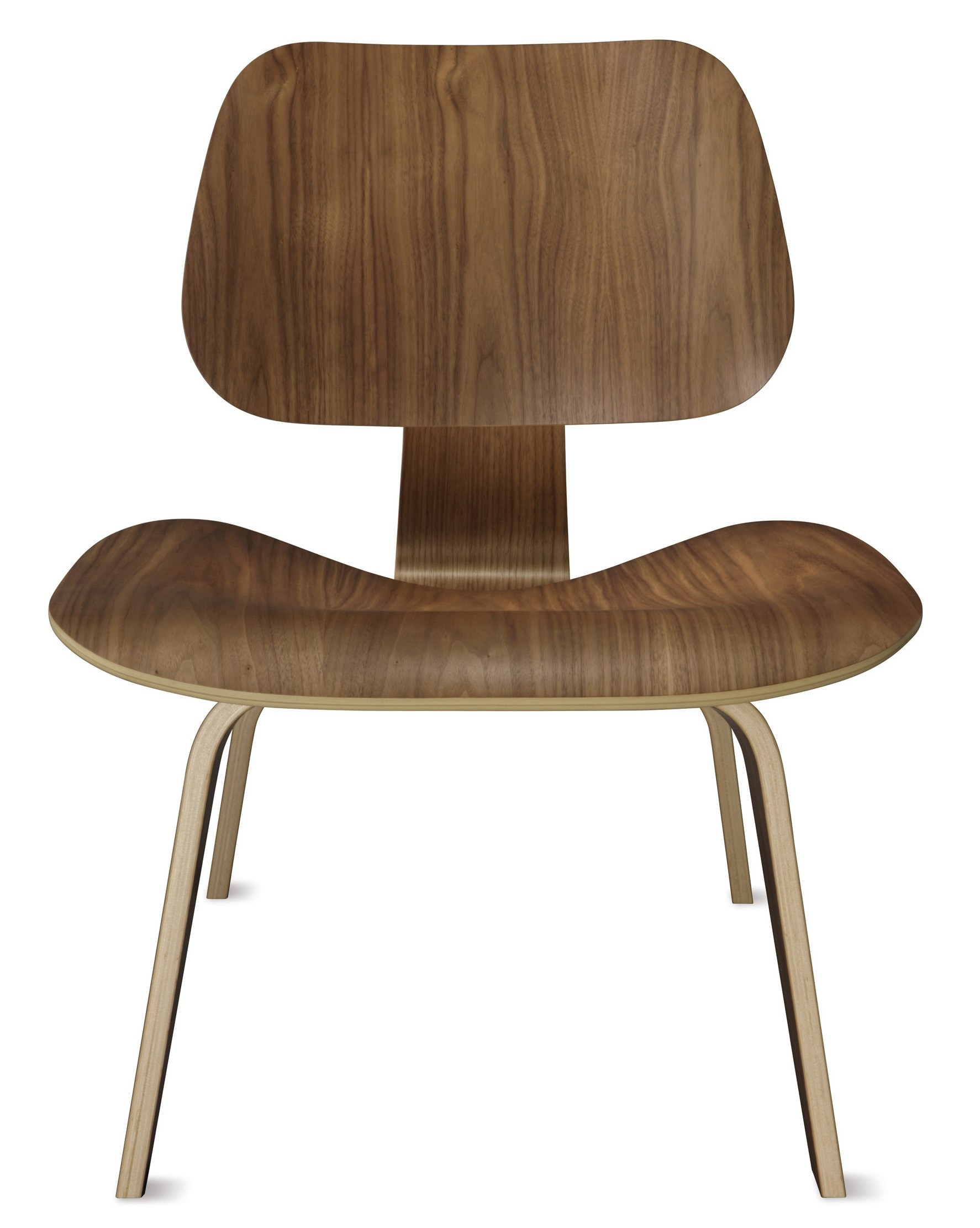 Herman Miller Eames® Molded Plywood Lounge Chair   Wood Legs