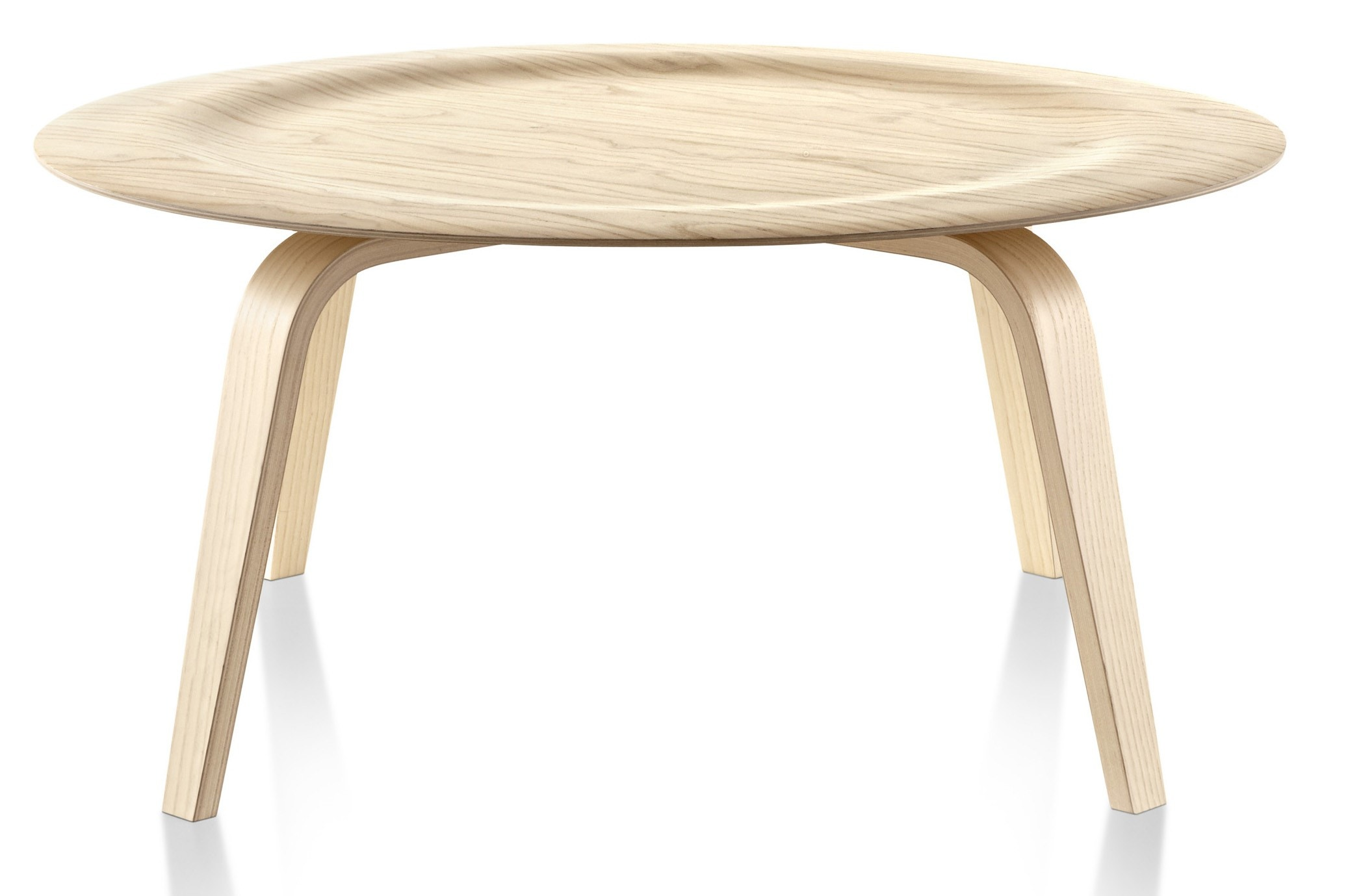 Herman Miller Eames® Molded Plywood Coffee Table Wood Base