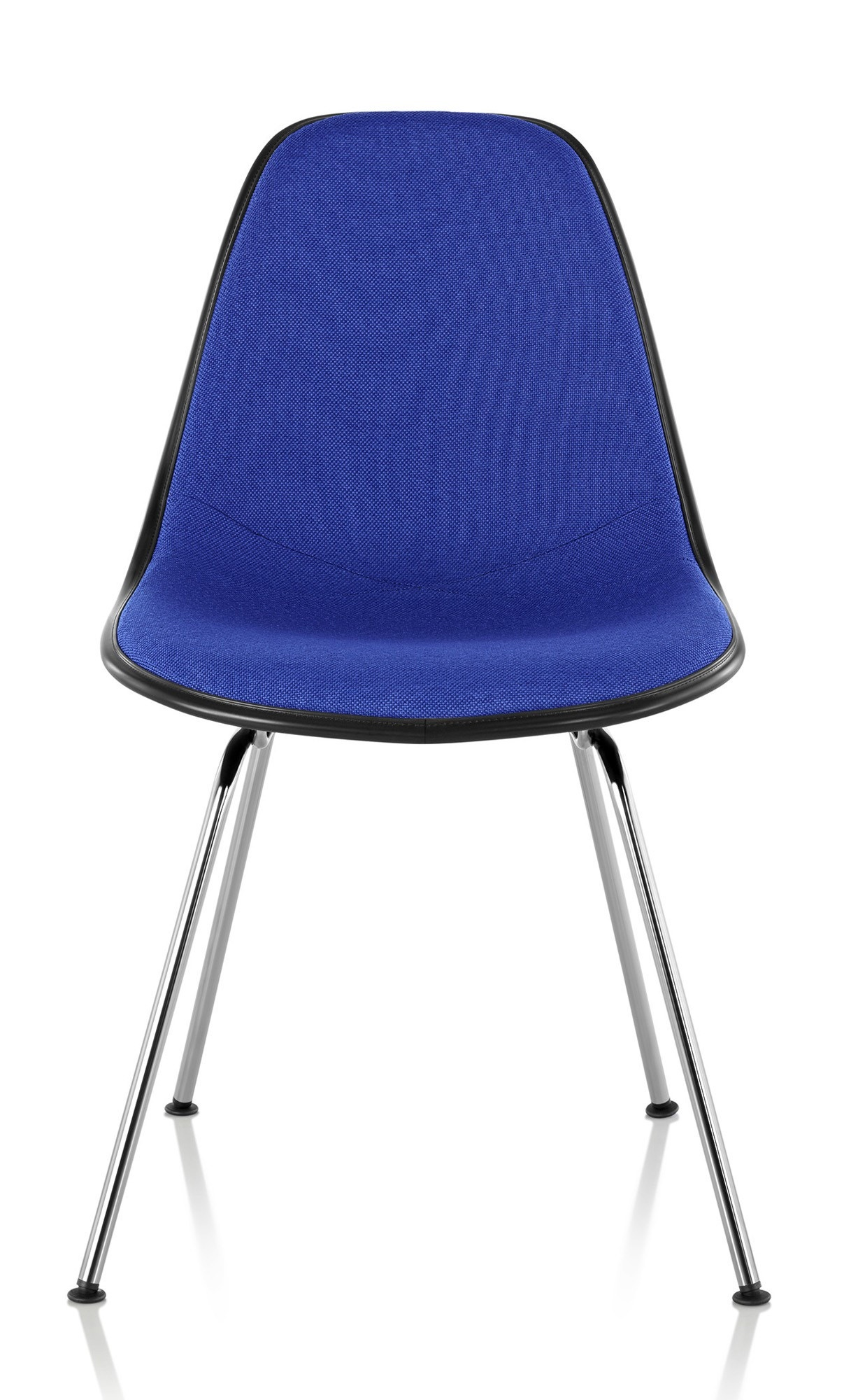 Herman Miller Eames® Molded Fiberglass Side Chair - Upholstered