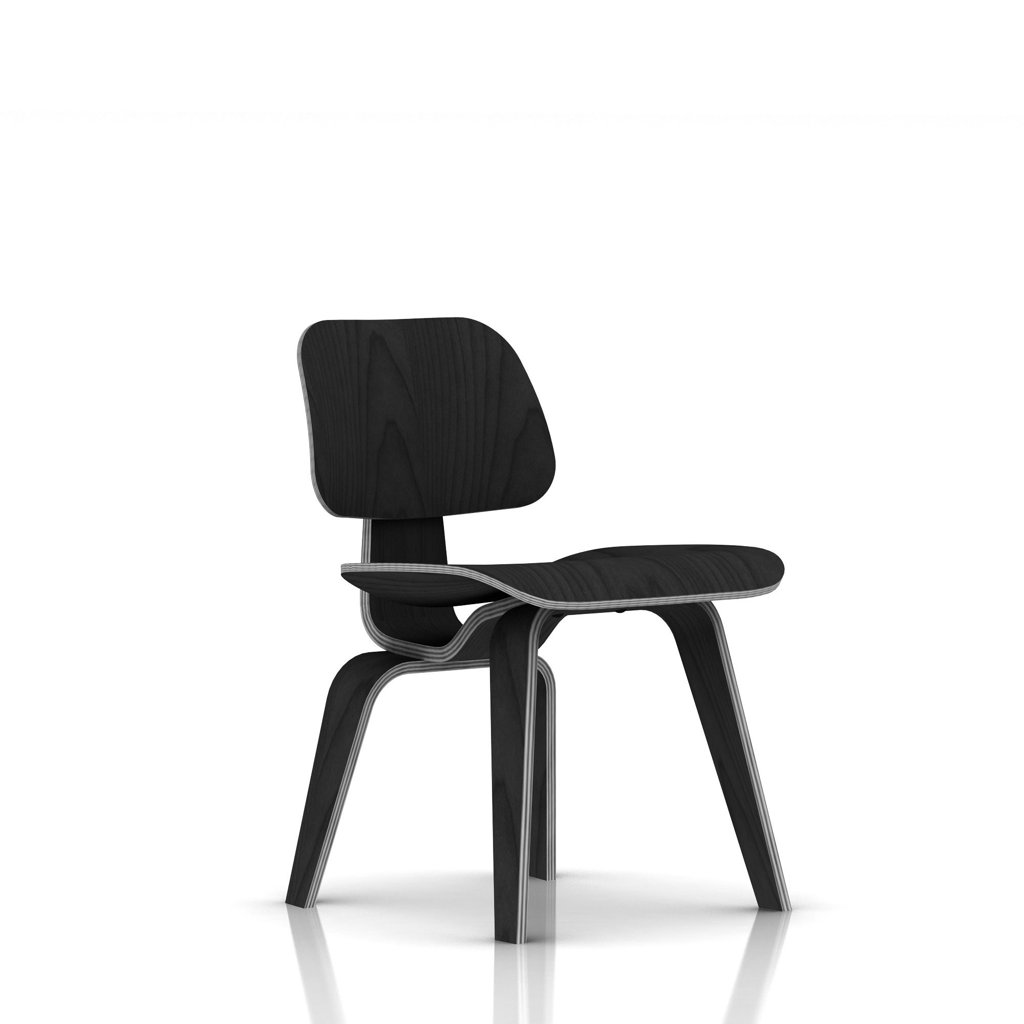 Herman Miller Eames174 Molded Plywood Dining Chair Wood  : eamesmoldedplywooddiningchairwithwoodbasestainedashfront from grshop.com size 2000 x 2000 jpeg 121kB
