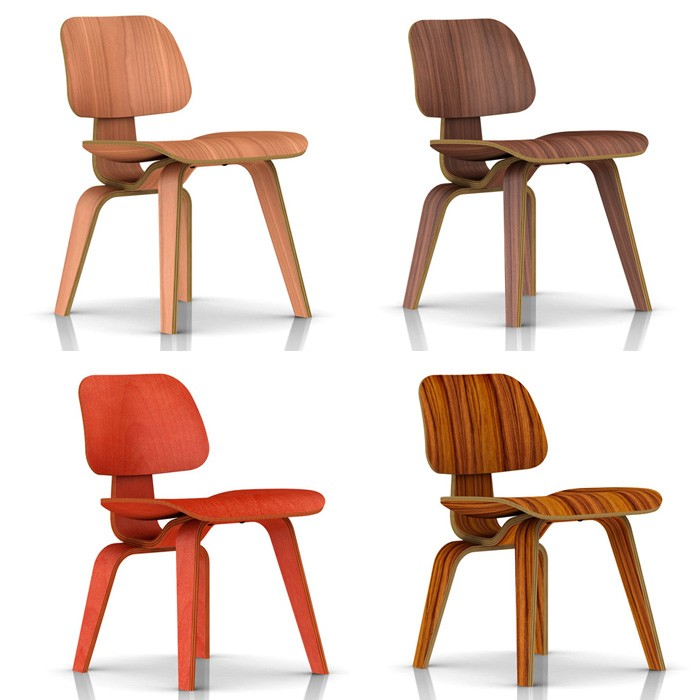 Herman Miller Eames Molded Plywood Dining Chair Wood Legs GR Shop Canada