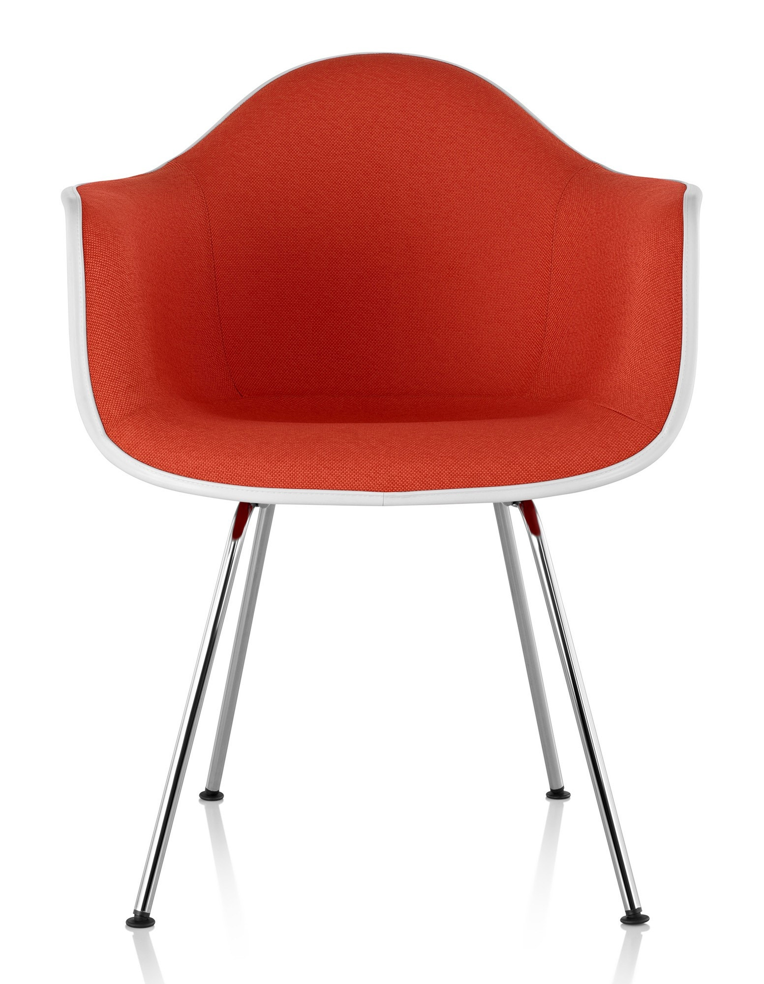 Superb Herman Miller Eames® Molded Plastic Armchair Upholstered Shell   GR Shop  Canada