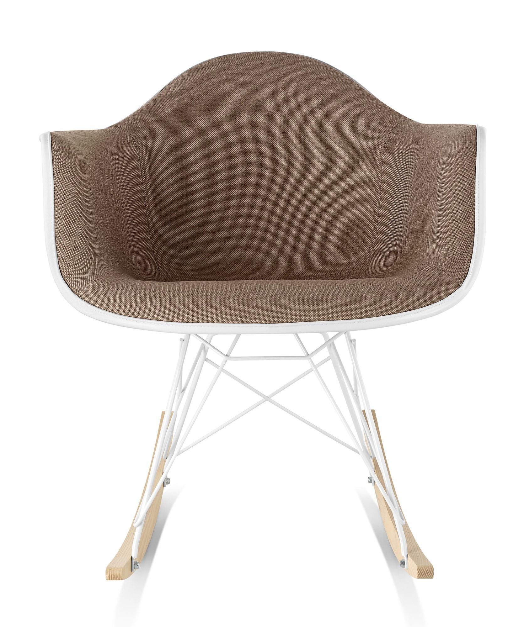 Charmant Herman Miller Eames® Molded Plastic Armchair Rocker Base Upholstered Shell