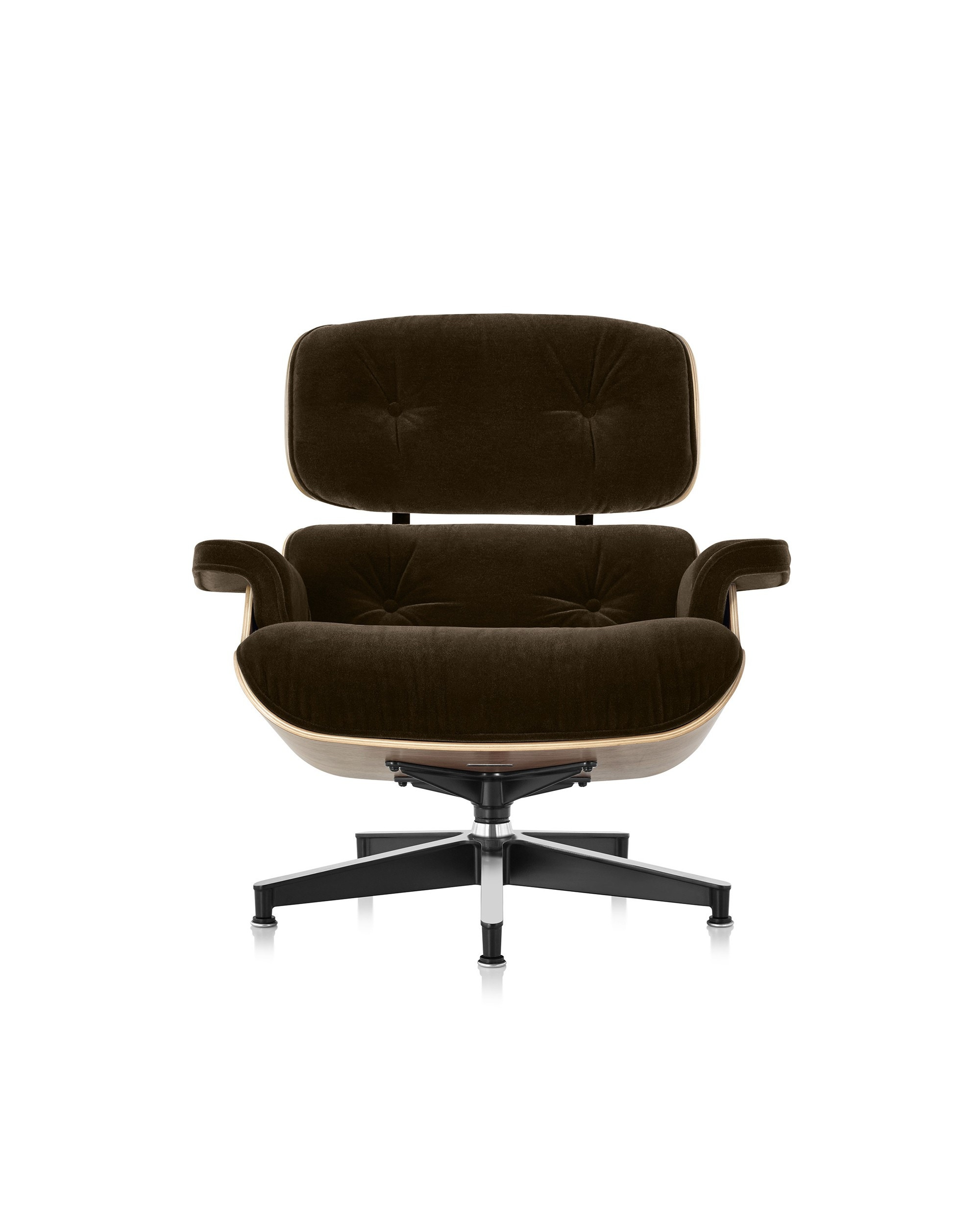 Herman Miller Eames® Lounge Chair in Mohair Supreme