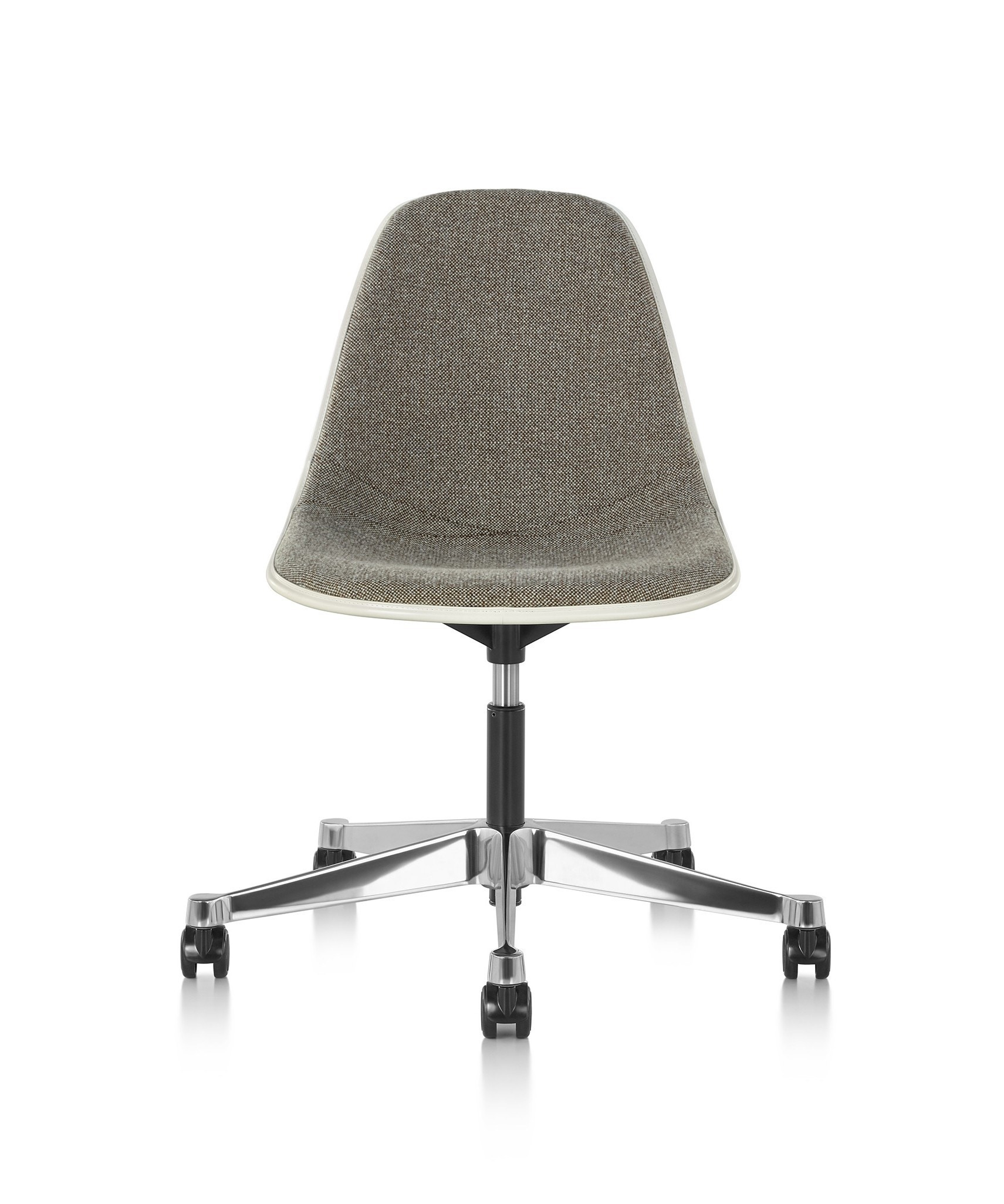 Herman Miller Eames® Molded Plastic Task Side Chair - Upholstered