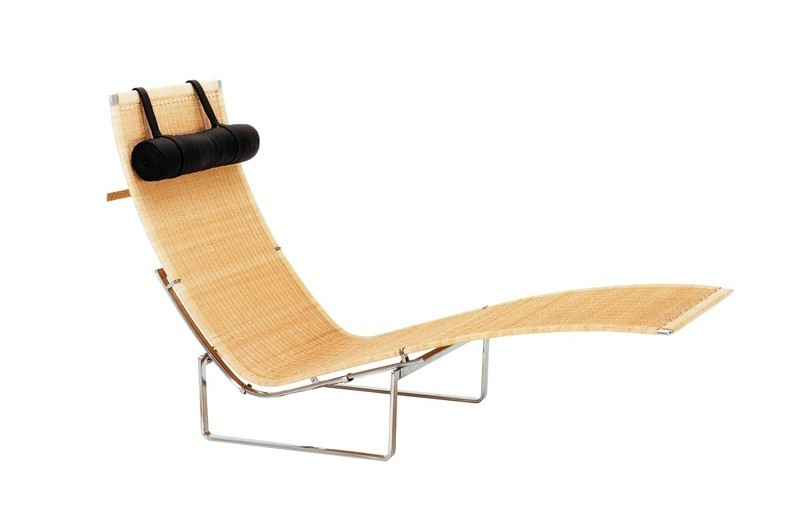 Fritz Hansen PK24 Chaise Wicker Chair
