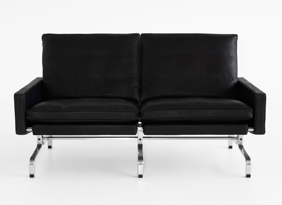 fritz hansen pk31 2 seater sofa gr shop canada. Black Bedroom Furniture Sets. Home Design Ideas