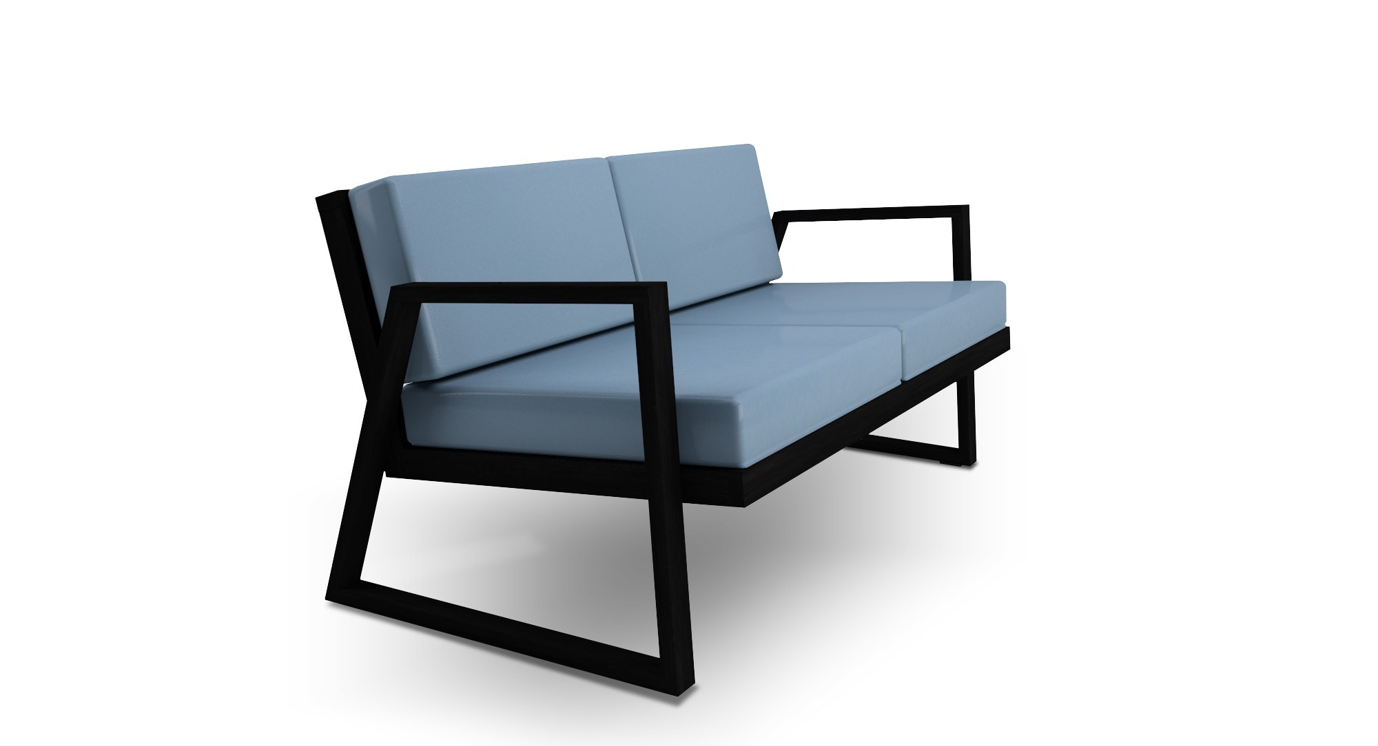 Dodeka Fugue Loveseat With Optional