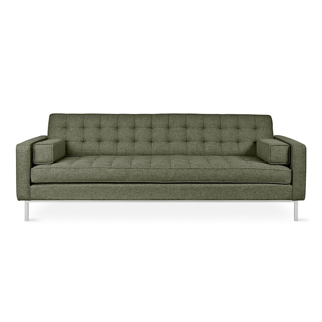 Gus* Modern Spencer Sofa, Stainless Base