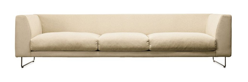 Cappellini Elan Wide Three Seat Sofa