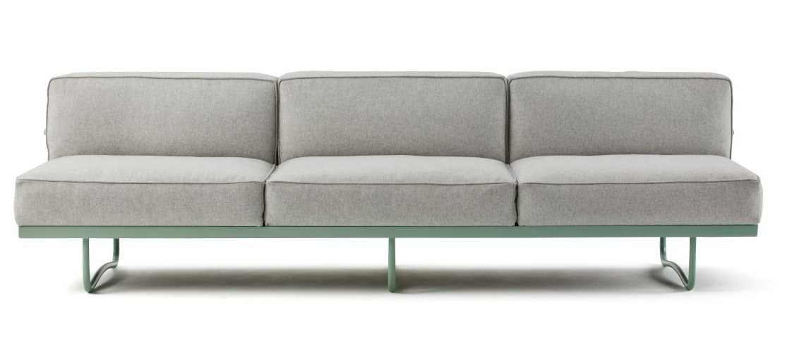 Cassina LC5 Three Seater Sofa