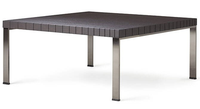 Poltrona Frau Geometrie Square Occasional Table