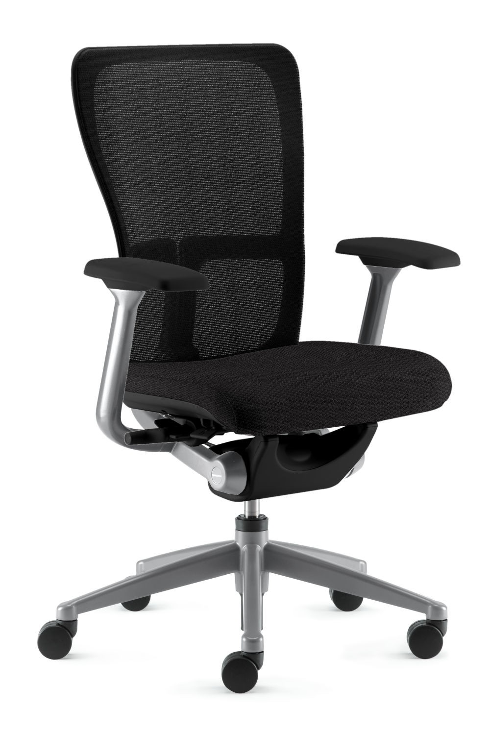 high homcom adjustable office desk swivel back products seat chair mesh computer image headrest