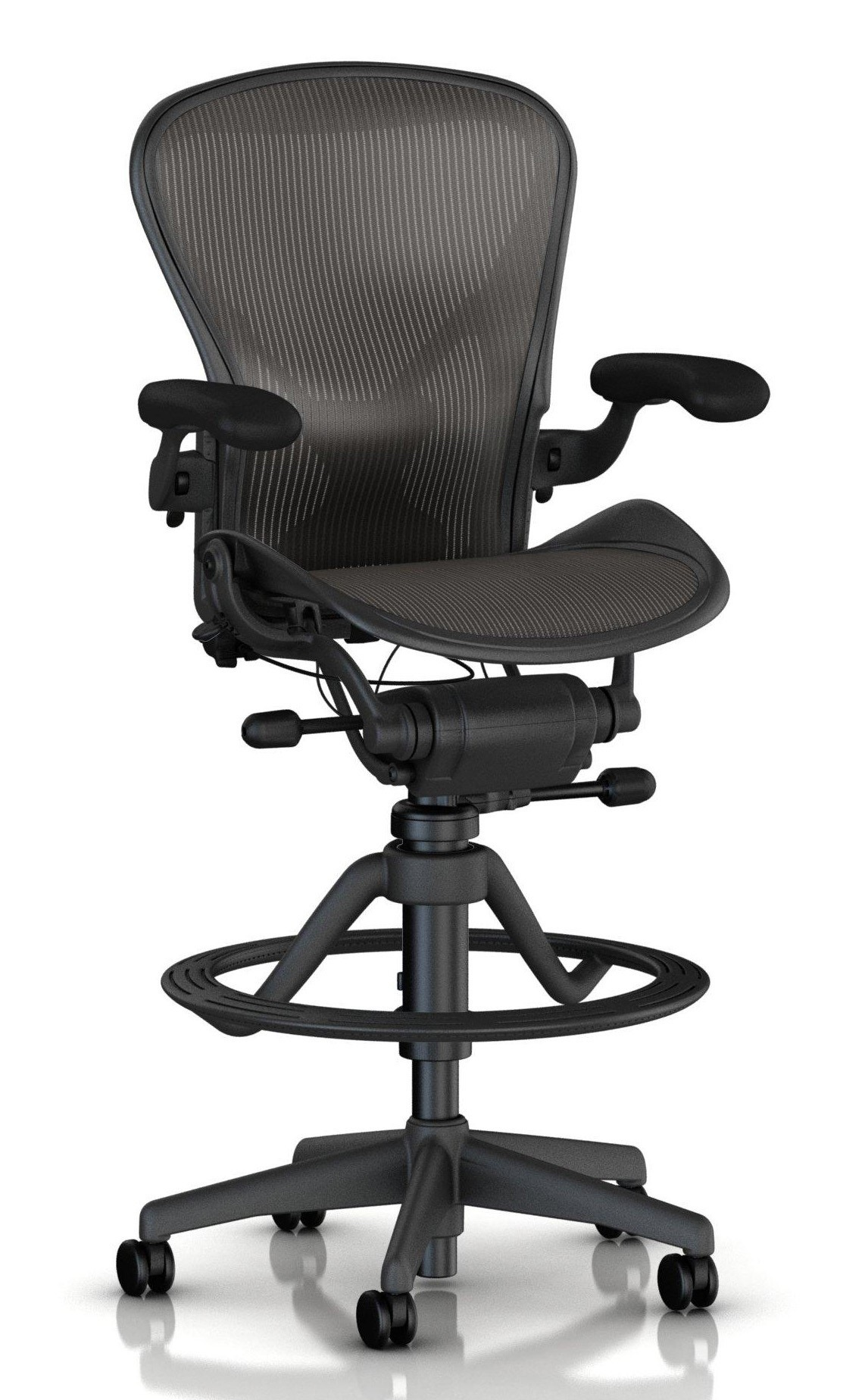 Herman Miller Classic Aeron® Stool - Fully Loaded