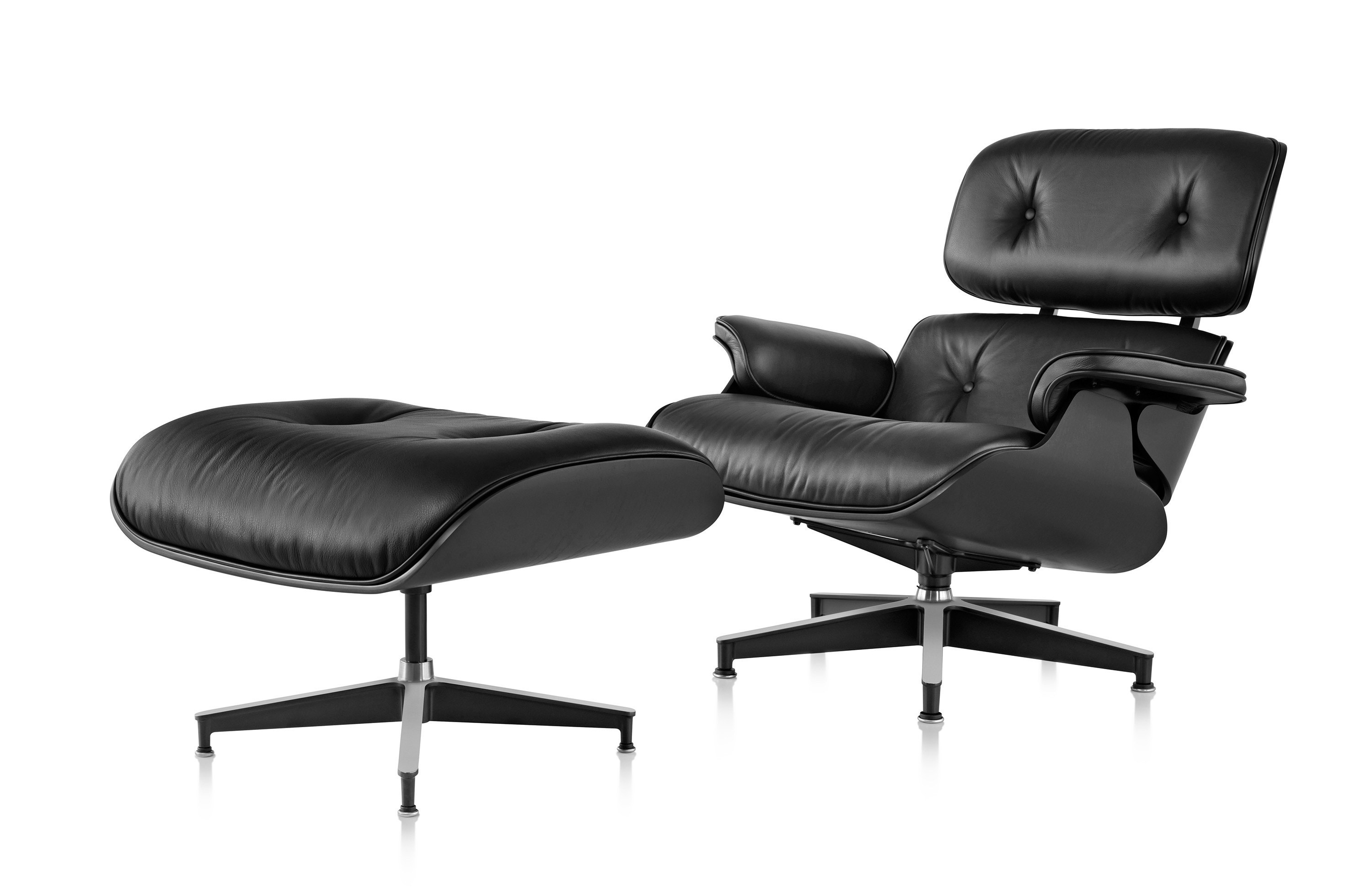 Herman Miller Eames Lounge Chair And Ottoman Ebony