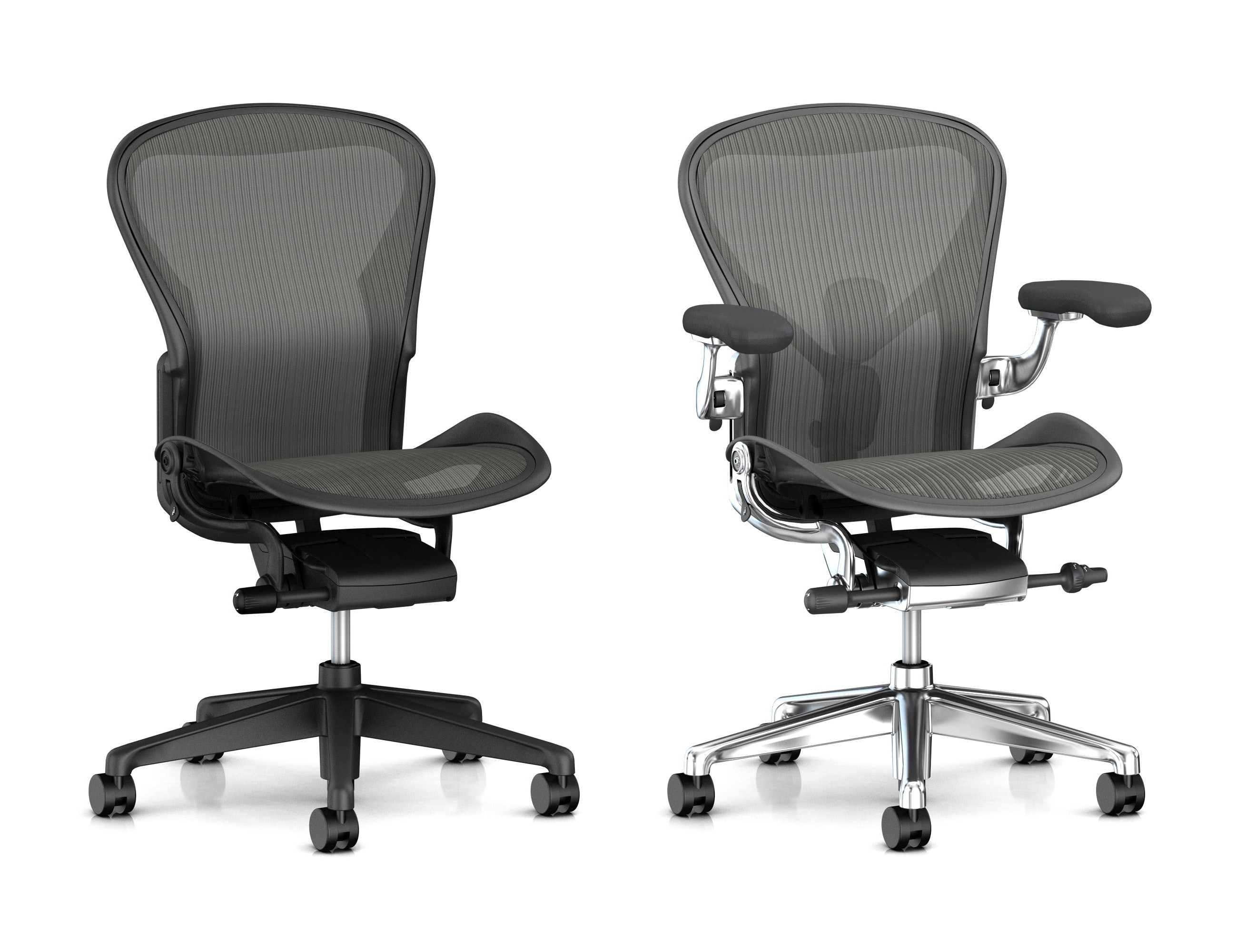 ideas black miller herman in aeron size featured b comfortable vibrant ingenious refurbished chair fully astonishing