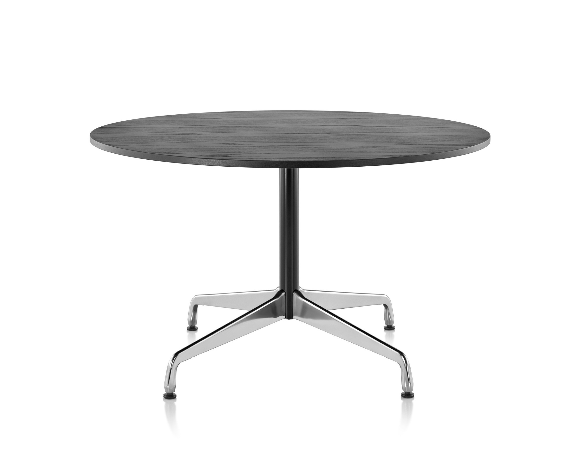Herman Miller Eames Conference Table Round With Segmented Base