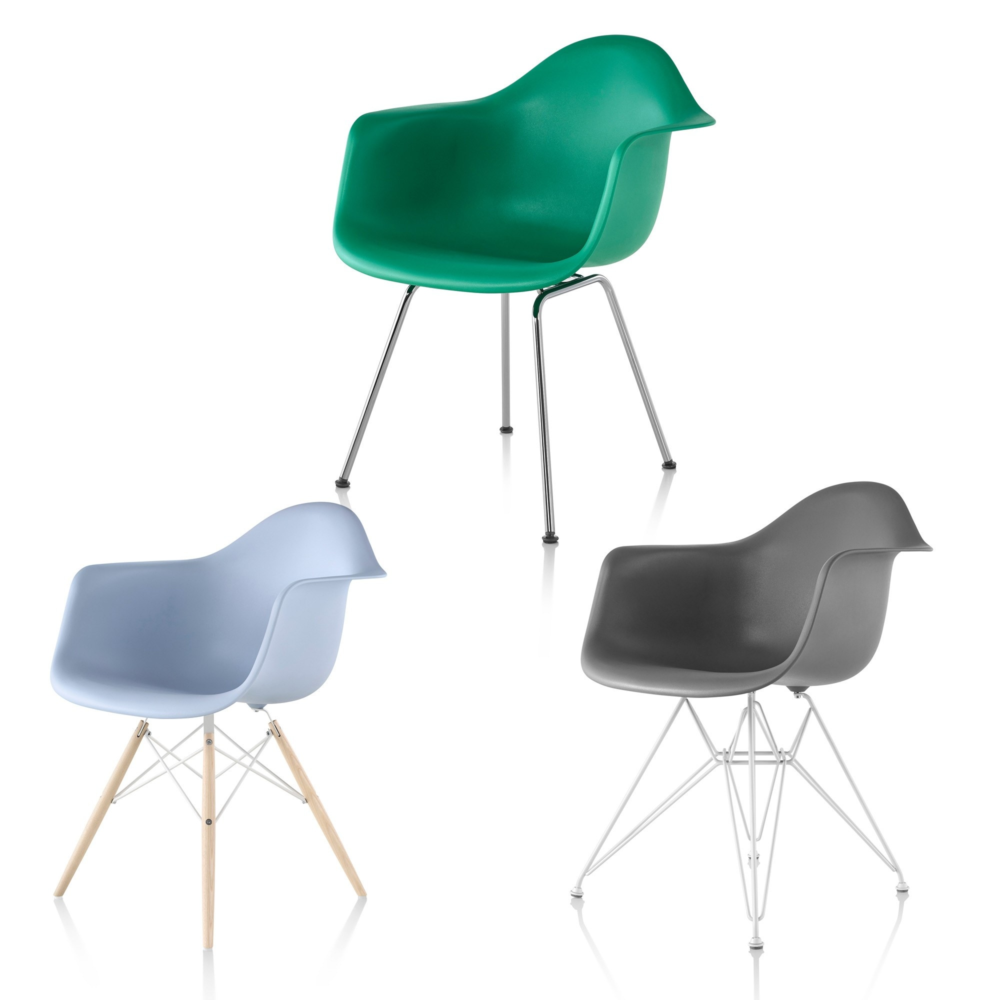 herman miller eames chair. Herman Miller Eames® Molded Plastic Armchair Eames Chair W