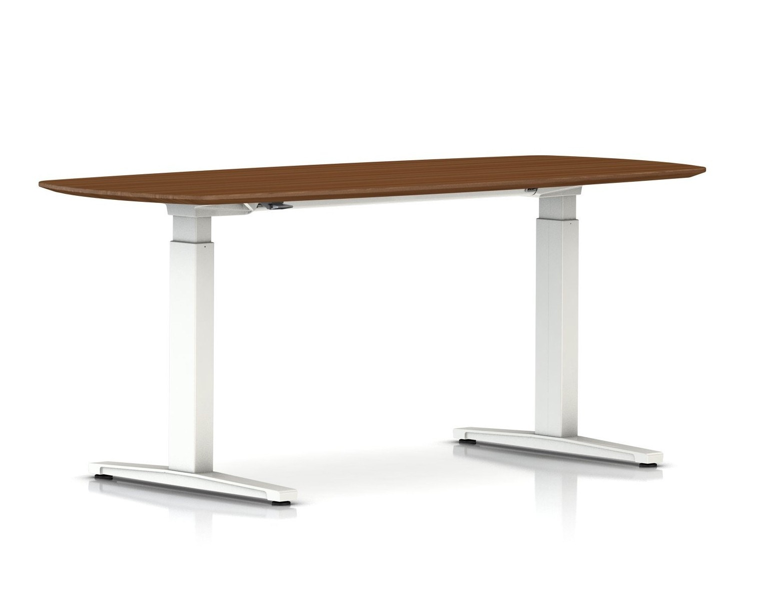 Herman Miller Renew Sit To Stand Table Oval T Foot   GR Shop Canada