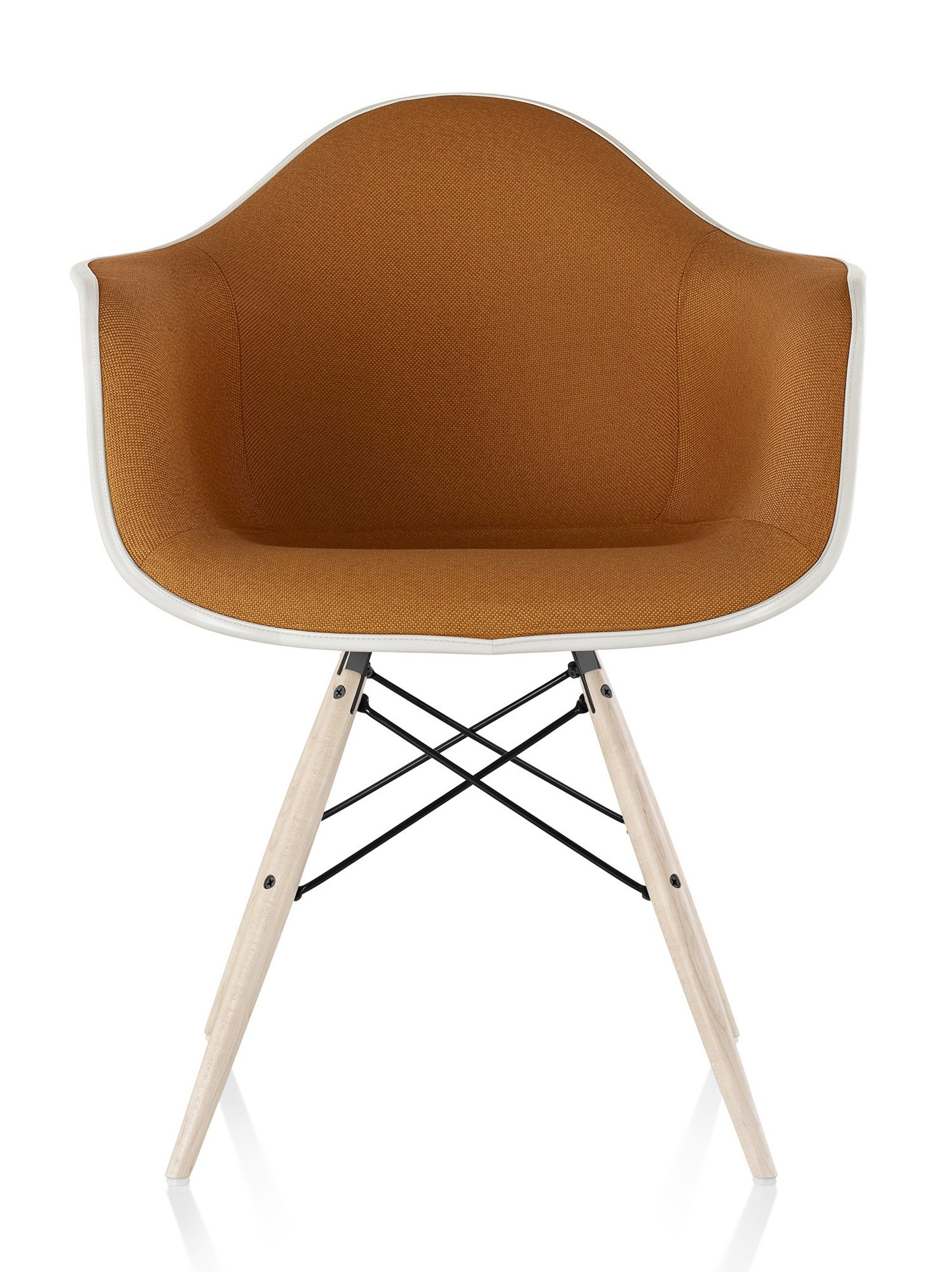 herman miller eames molded fiberglass armchair. Black Bedroom Furniture Sets. Home Design Ideas