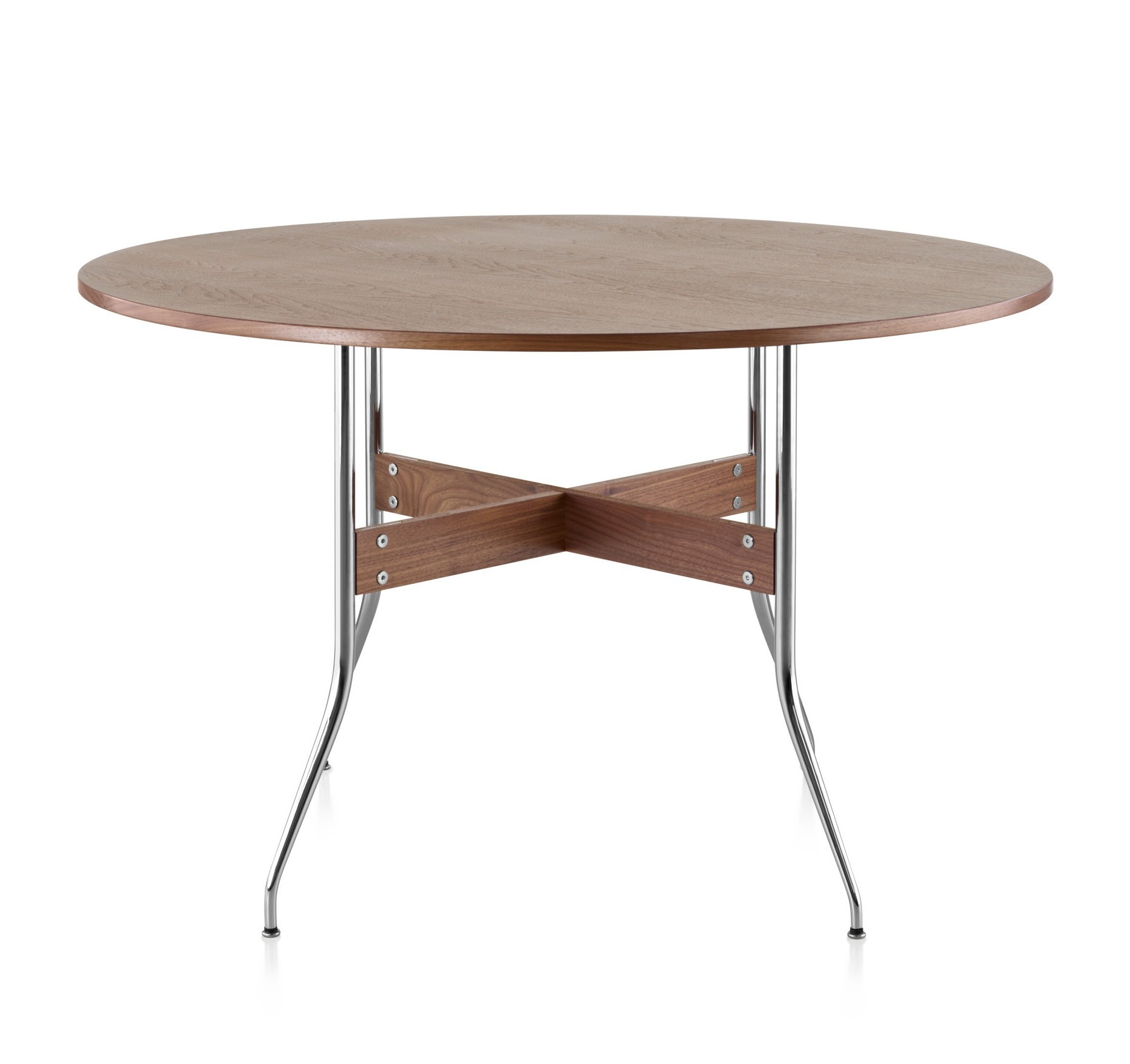 Perfect Herman Miller Nelson Swag Leg Dining Table Round