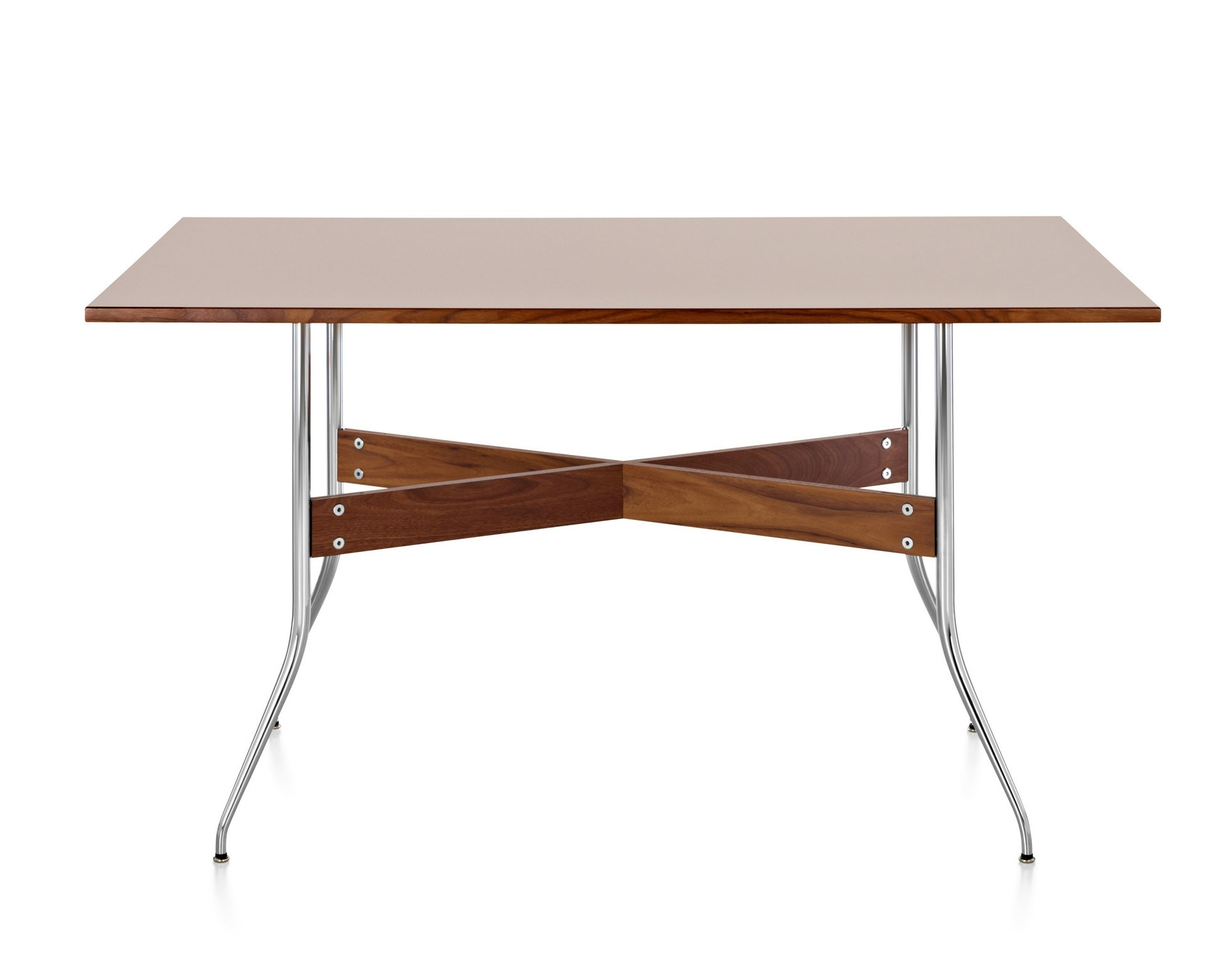 Herman miller nelson swag leg dining table rectangular for Nelson swag leg table
