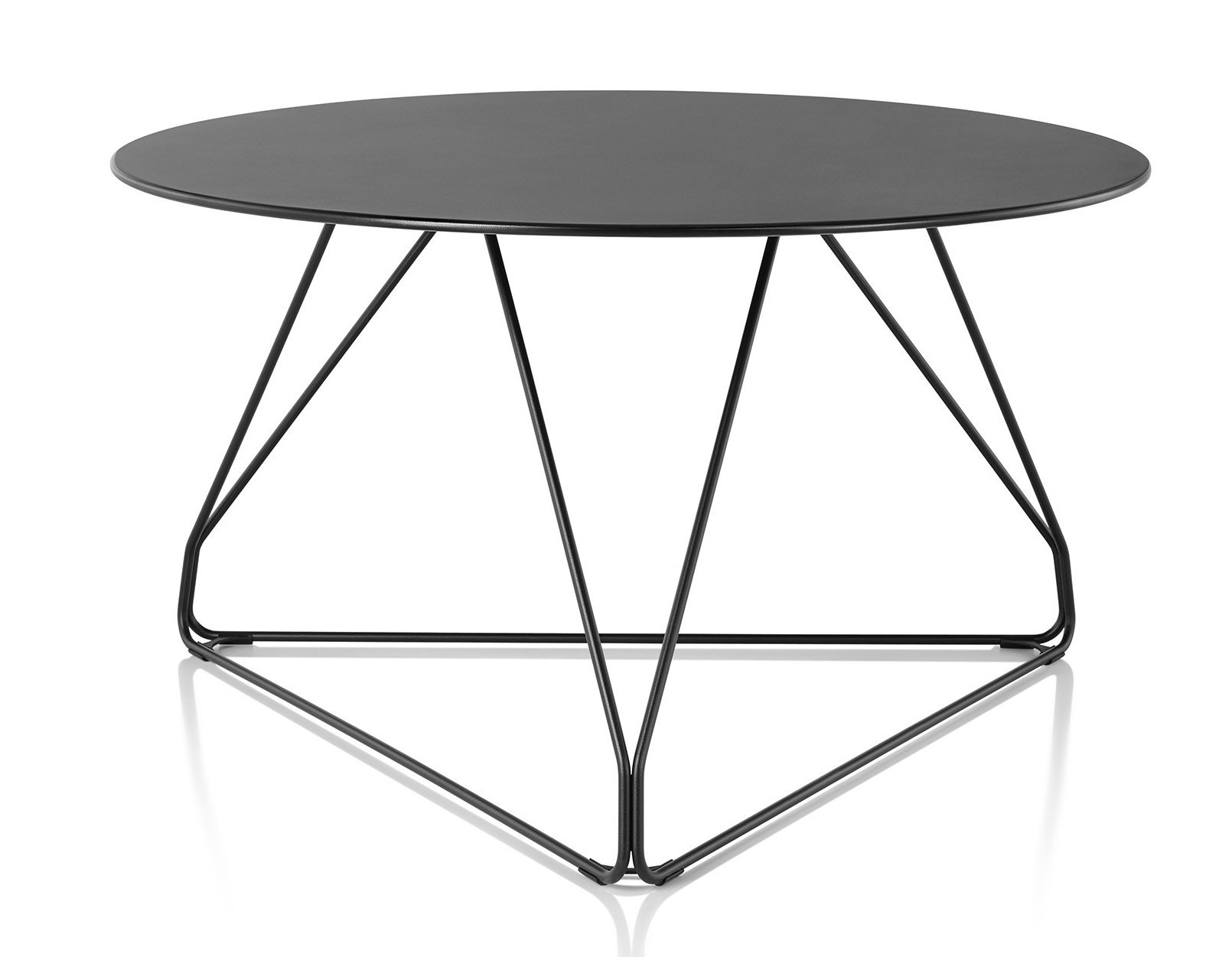 Charmant Herman Miller Polygon Wire Table   GR Shop Canada