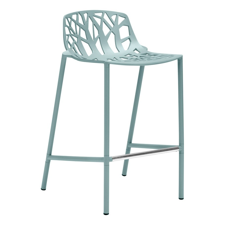 Janus Et Cie Forest Counter Stool With Low Back