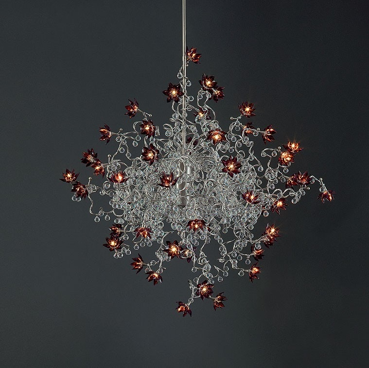 Harco Loor Jewel Diamond Double Suspension Lamp