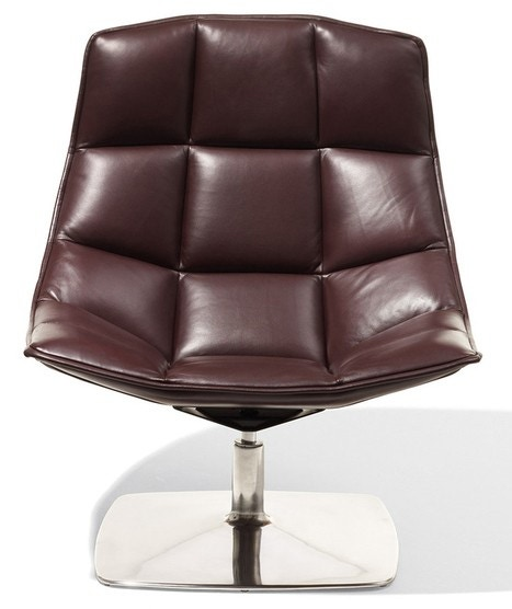 Knoll Markus Jehs and Jurgen Laub - Lounge Chair (Fixed Back, Pedestal Base)