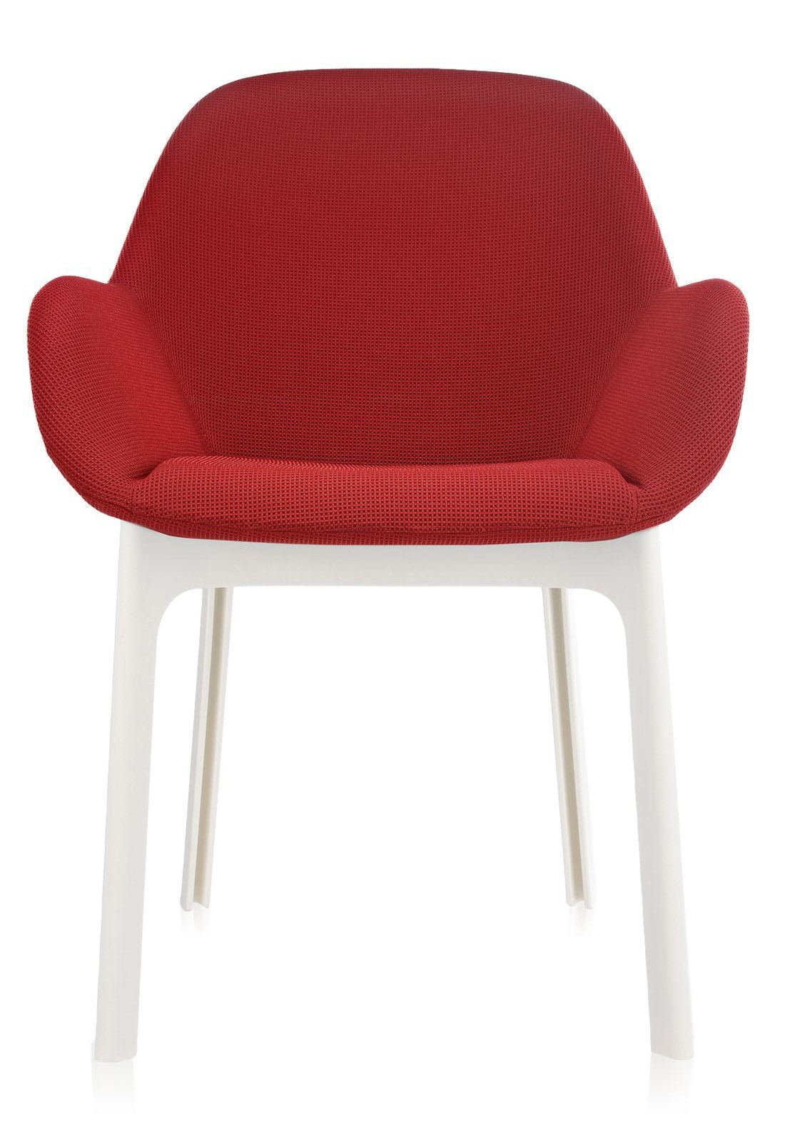 Kartell Clap Solid-Colored Fabric Armchair