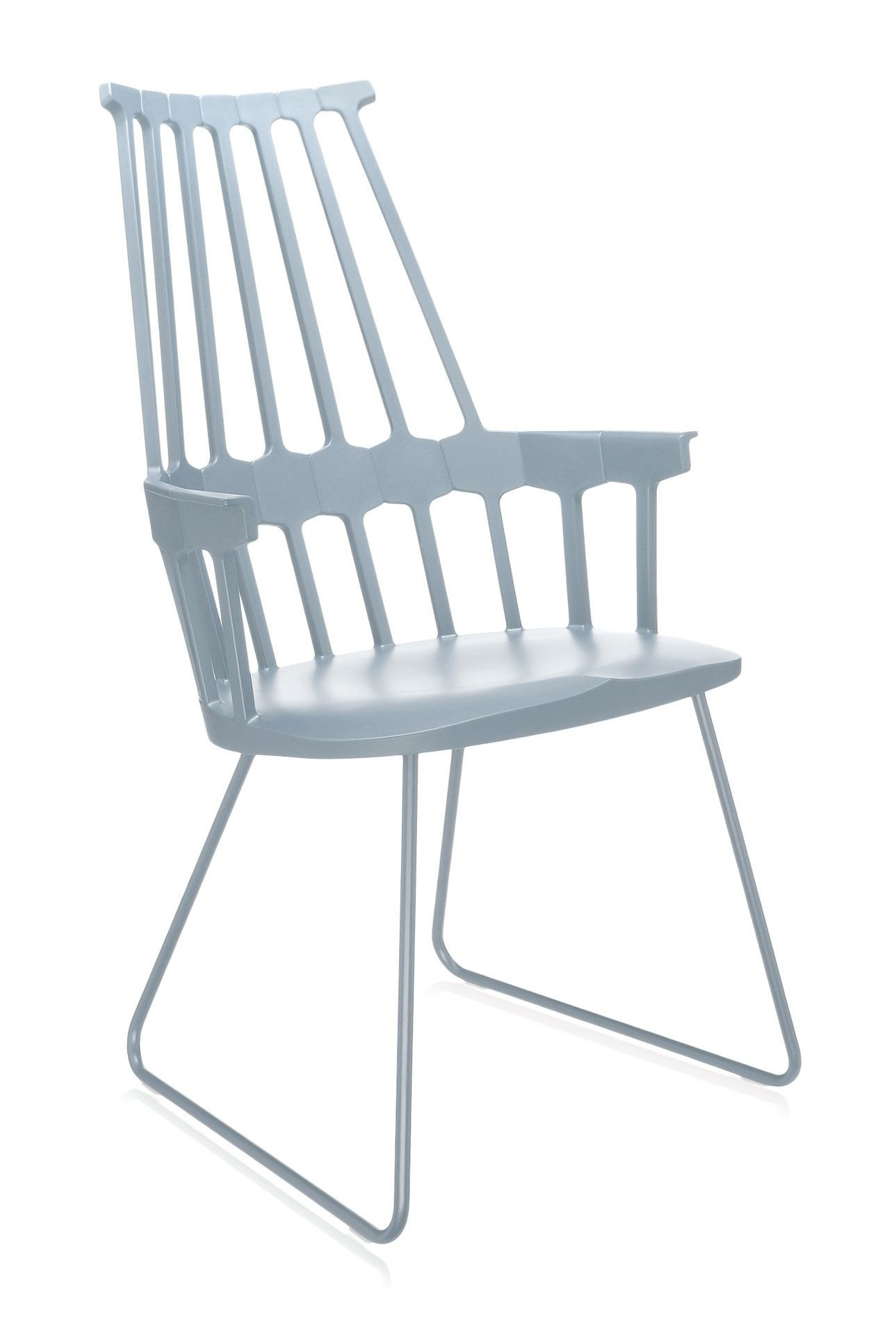 Kartell Comback Sled Chair (Priced Each, Sold in Sold in Sets of 2)