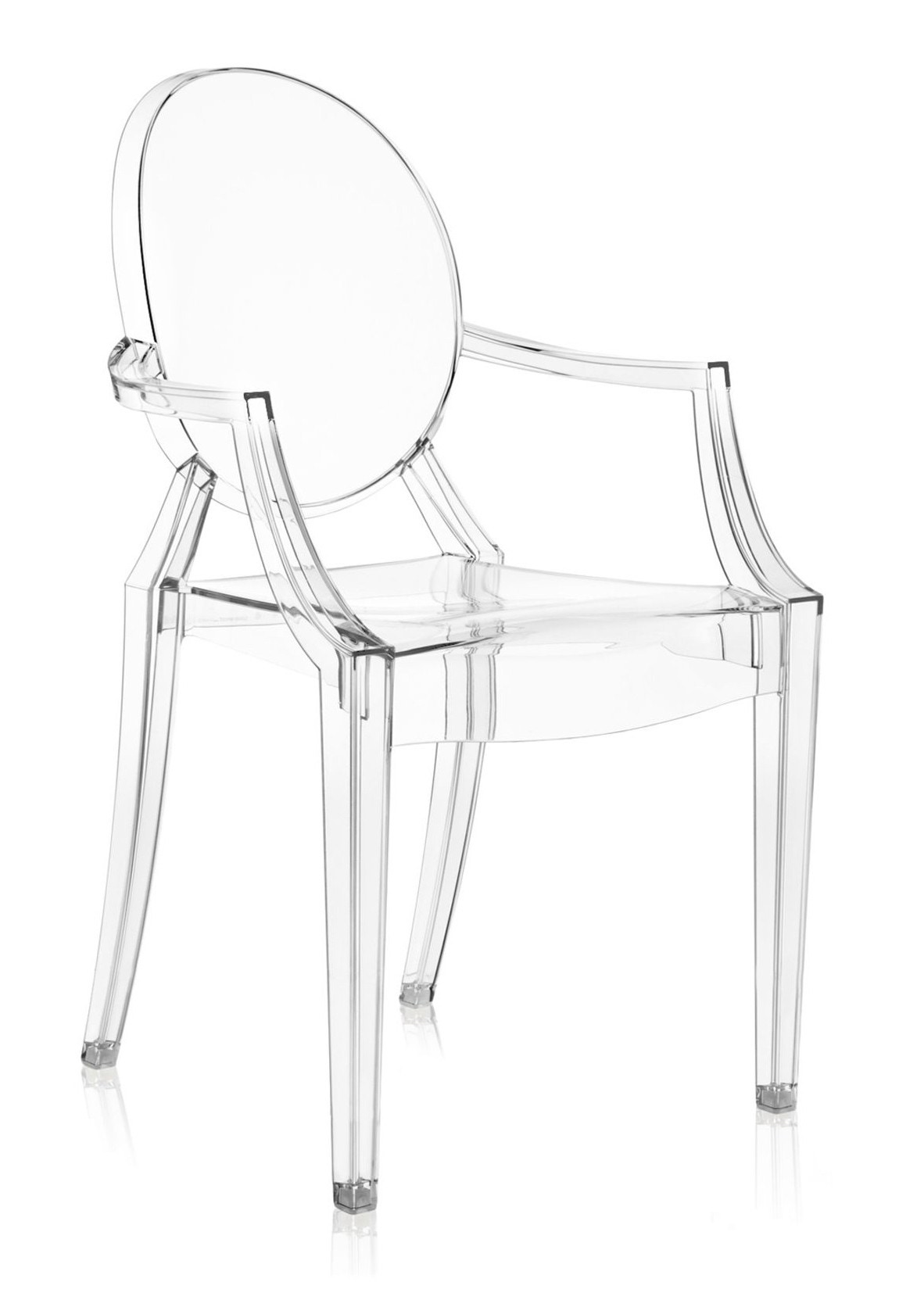 Kartell Louis Ghost Armchair Crystal Priced Each Sold in Sets