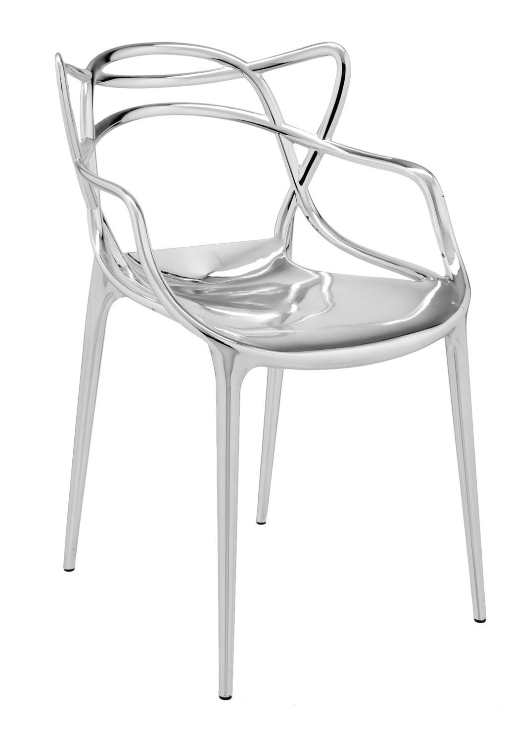 Kartell Masters Metallic Armchair (Priced Each, Sold in Sets of 2)