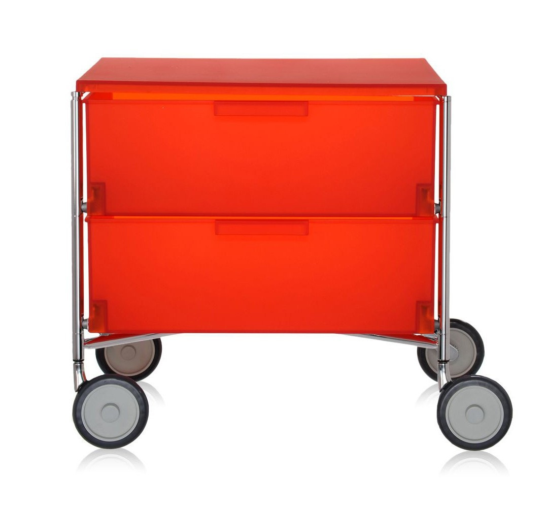 Kartell Mobil Containers w/ Castor Base