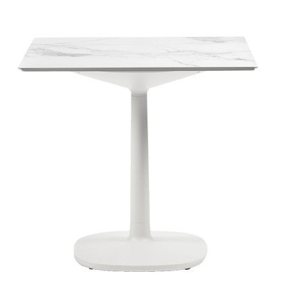 Kartell Multiplo Small Square Base Outdoor Table - Square Top