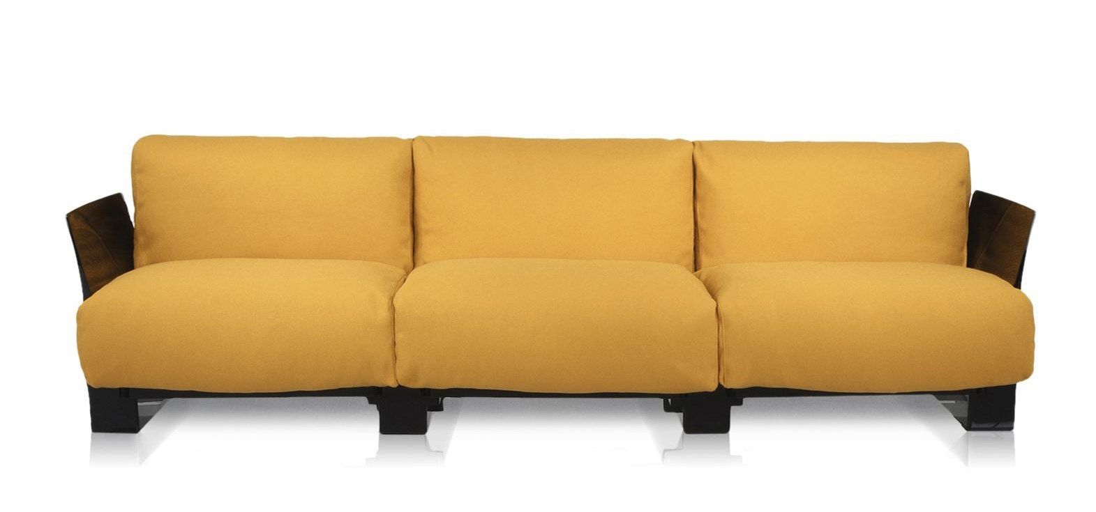 Kartell Pop Cotton & Trevira 3 Seater Sofa