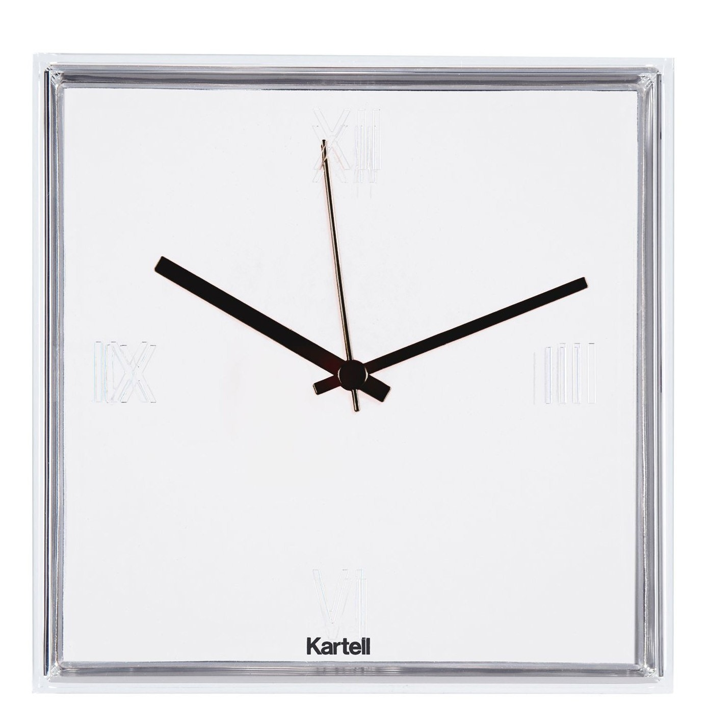Kartell Tic & Tac Wall Clock (Priced Each, Sold in Sets of 4)