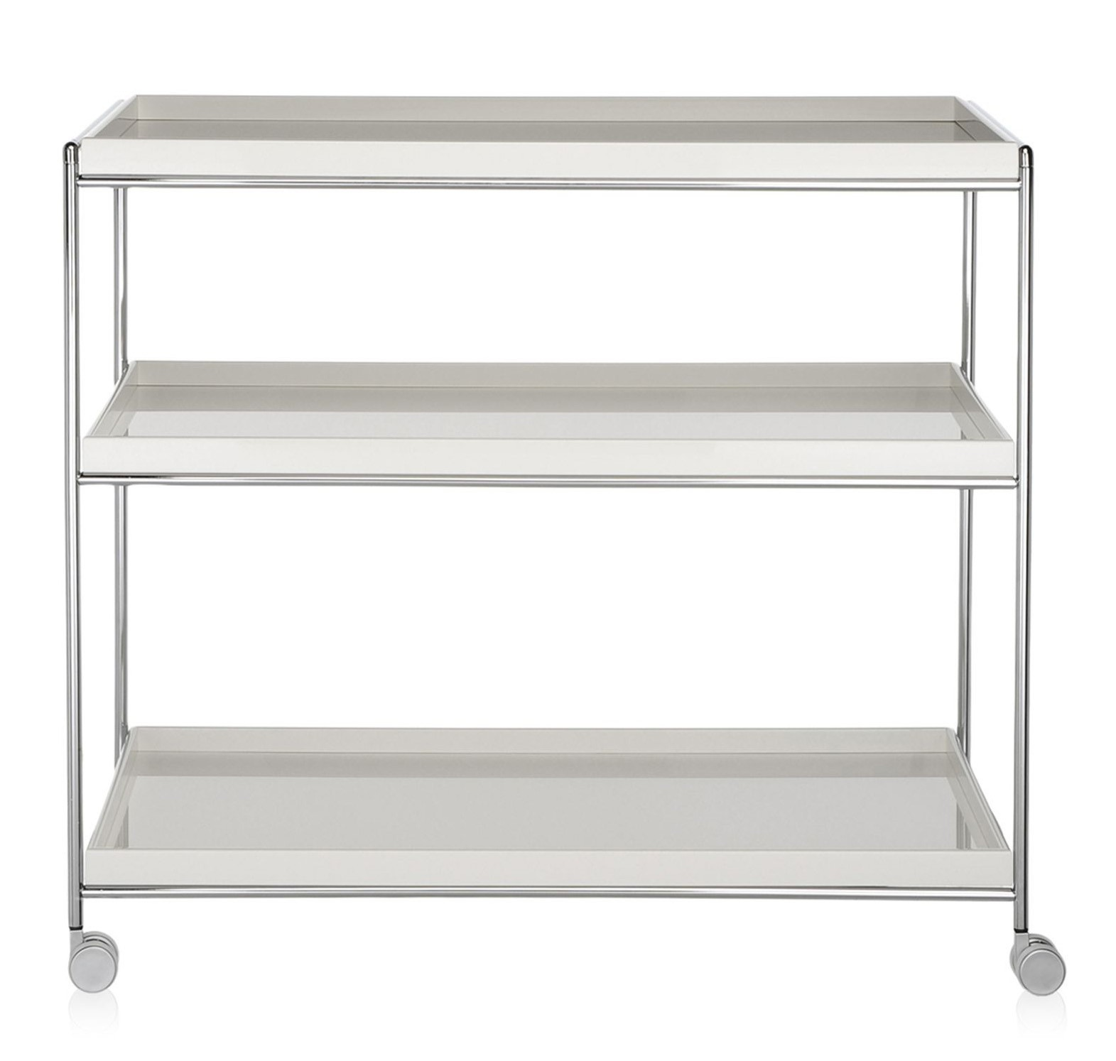Kartell Trays - Trolley