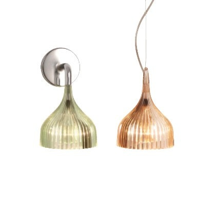 Kartell E Wall or Suspension Lamp