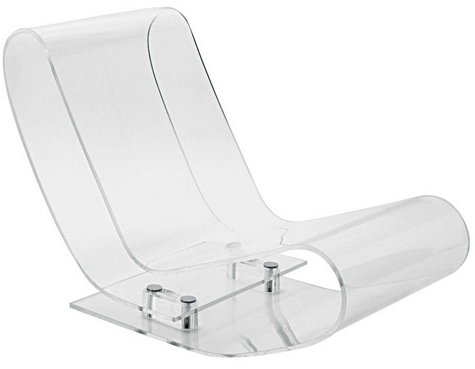 Kartell LCP Lounge Chair in Crystal
