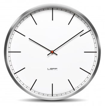Leff Amsterdam One Wall Clock Index Dial
