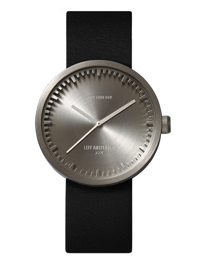 Leff Amsterdam Tube D38 Steel Watch