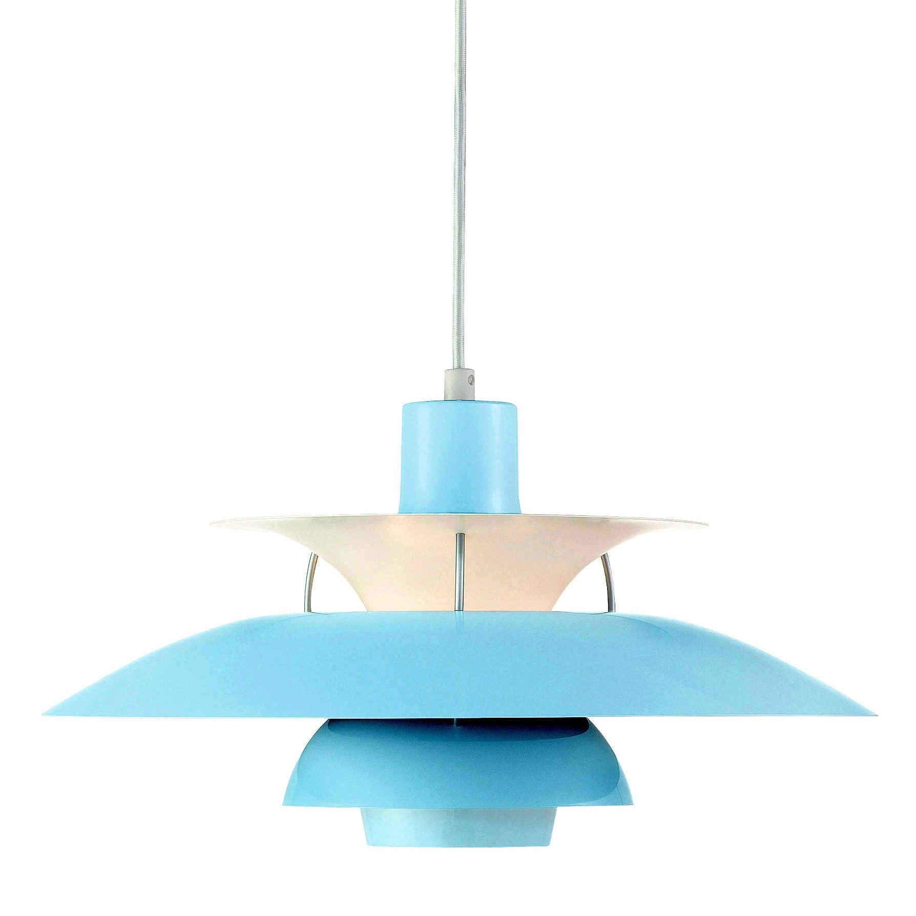 CLEARANCE - Louis Poulsen PH50 Pendant Lamp - Mint Blue