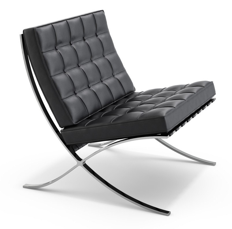 knoll ludwig mies van der rohe barcelona lounge chair gr shop canada. Black Bedroom Furniture Sets. Home Design Ideas