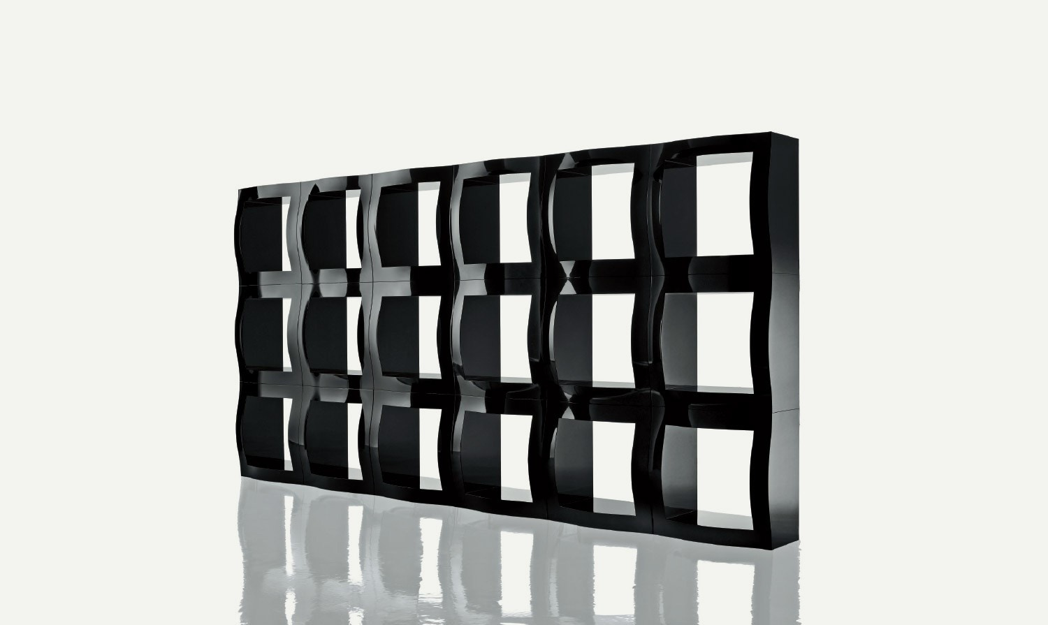 Magis Boogie Woogie Shelving System, Stacking And Adjoining (Priced Each, Sold in Sets of 2)